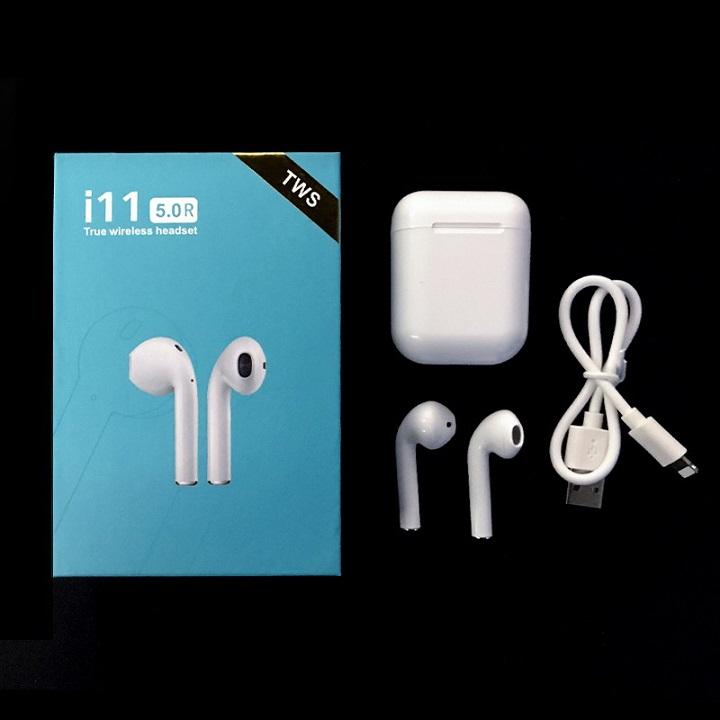 Tai nghe bluetooth dòng cảm ứng I11 TWS và pop-up cao cấp, công nghệ bluetooth 5.0 - hàng chính hãng