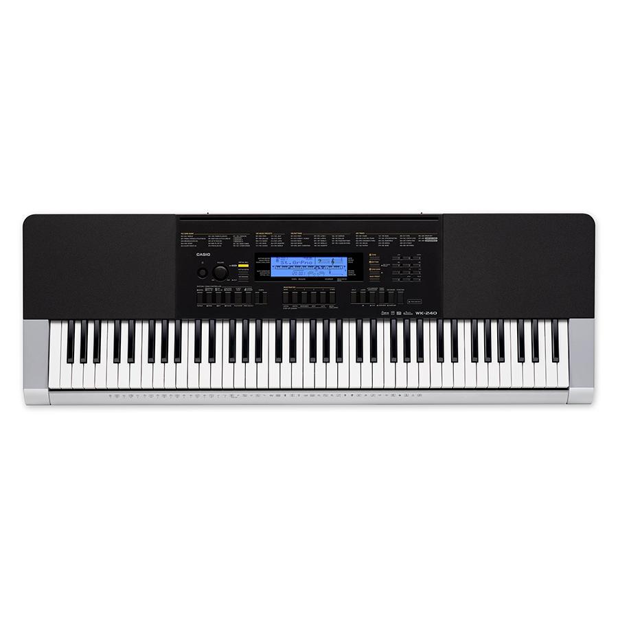 Bộ Đàn Organ Casio WK-240 Kèm AD Giá Nhạc Chân Bao