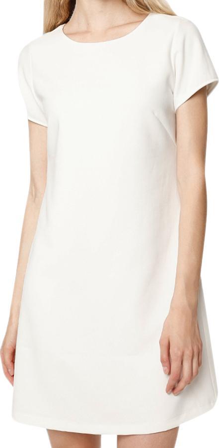 Đầm Nữ Cotton Cổ Tròn Mint Basic - Trắng Size M