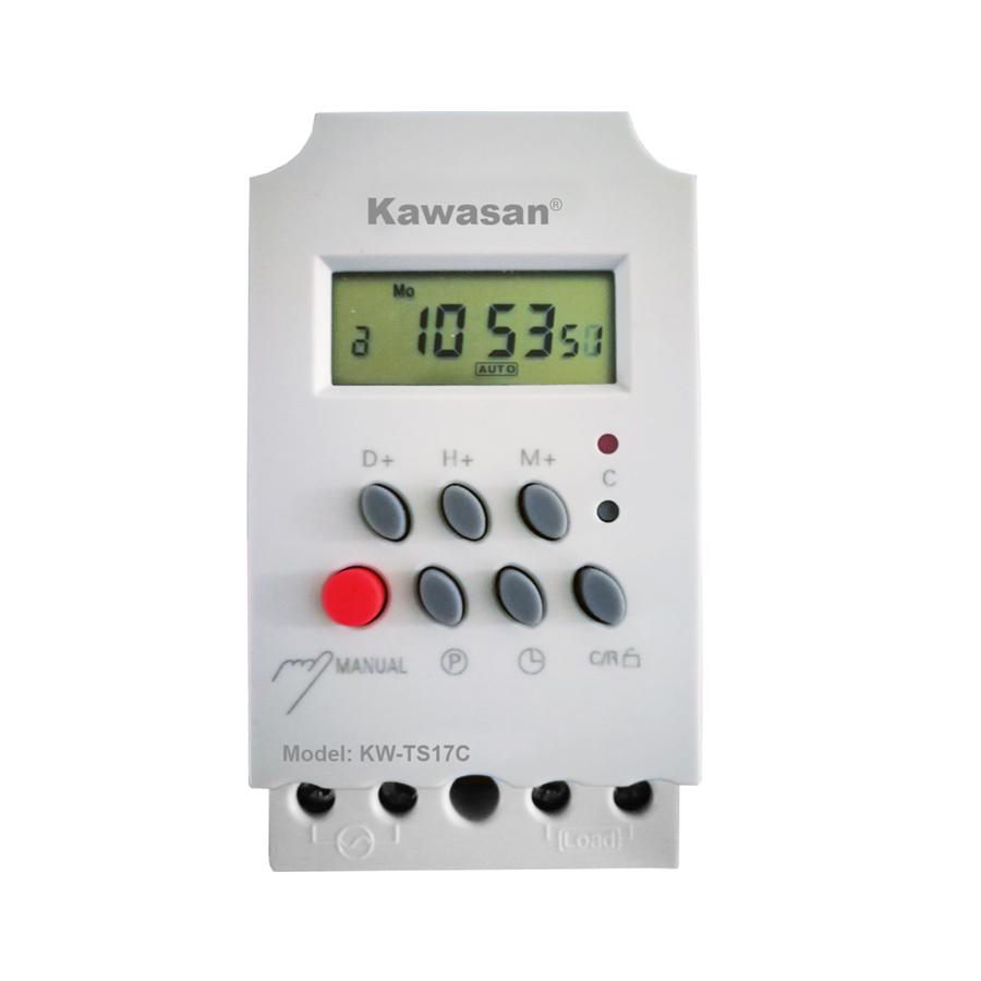 CÔNG TẮC HẸN GIỜ KỸ THUẬT SỐ KAWASAN MODEL KW-TS17C