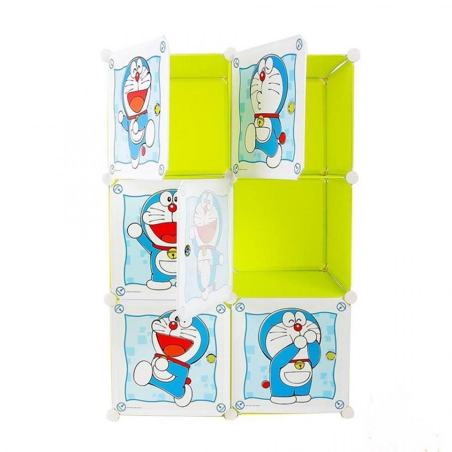 Tủ nhựa ghép đa năng 6 ngăn  (74 x47 x 110 cm)