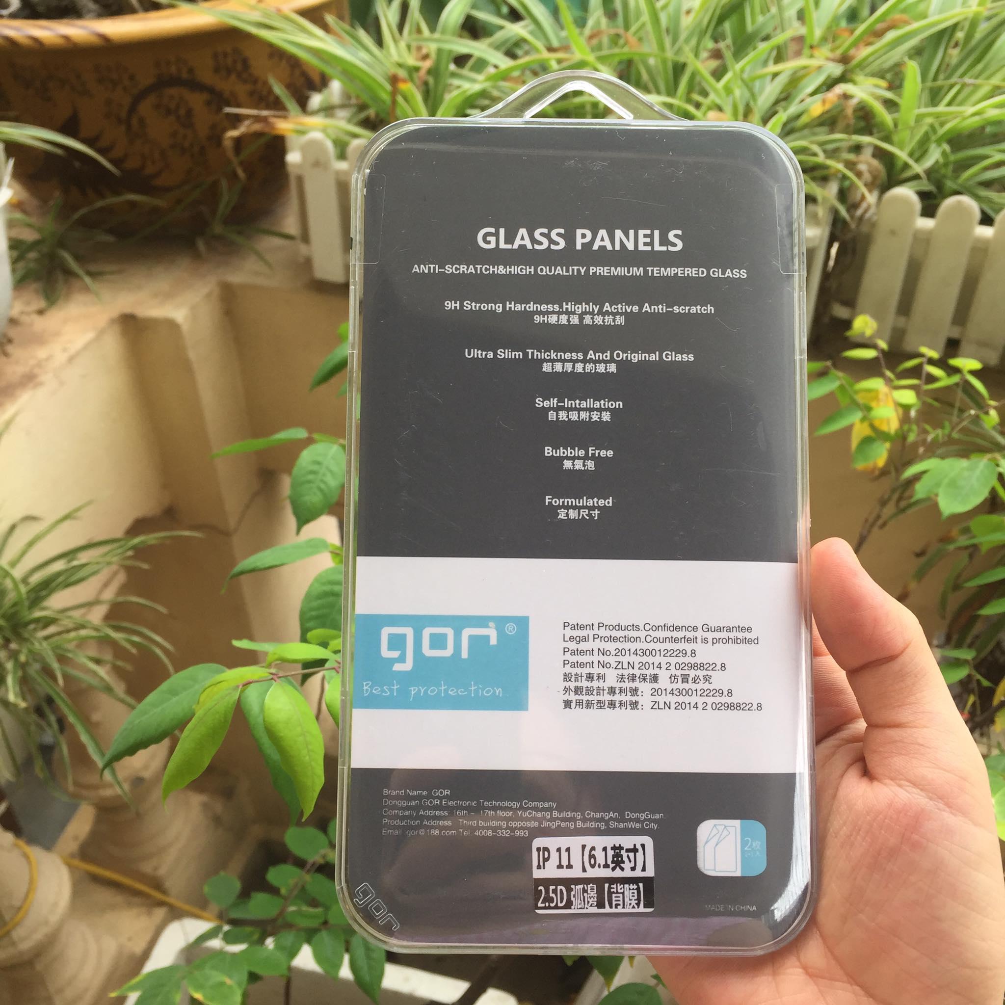 Bộ 2 Kính Cường Lực GOR cho iPhone 11 ( 2 Miếng full box ) _ Hàng Nhập Khẩu