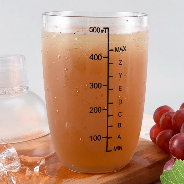 Bình pha chế trà sữa Shaker 530ml (loại tốt)