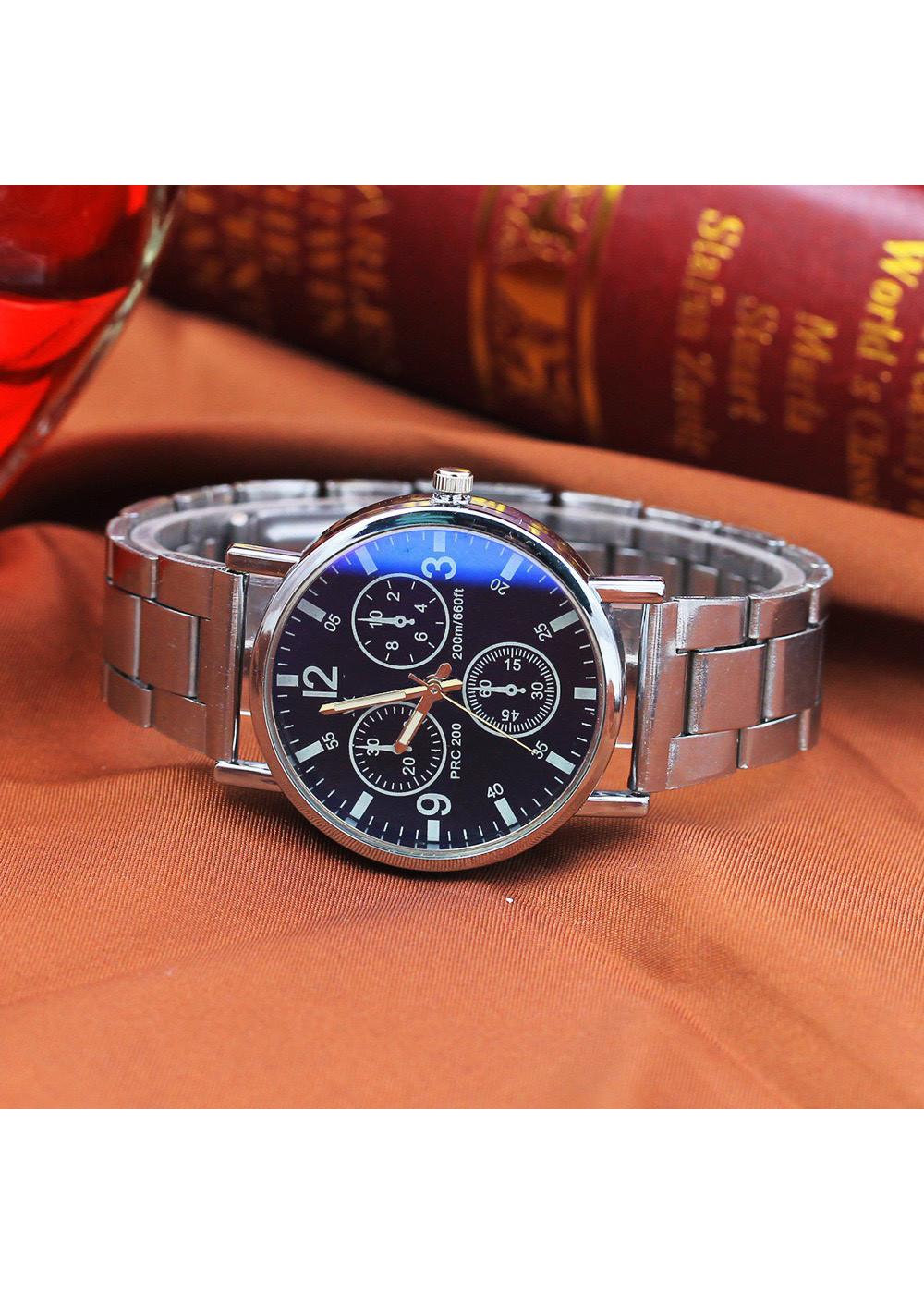 Đồng hồ nam đeo tay cao cấp dây kim loại modiya siêu hot DH100