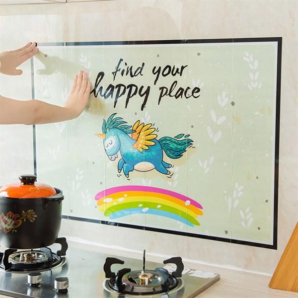 Miếng dán trang trí nhà bếp mẫu 2018 (loại dày dặn)
