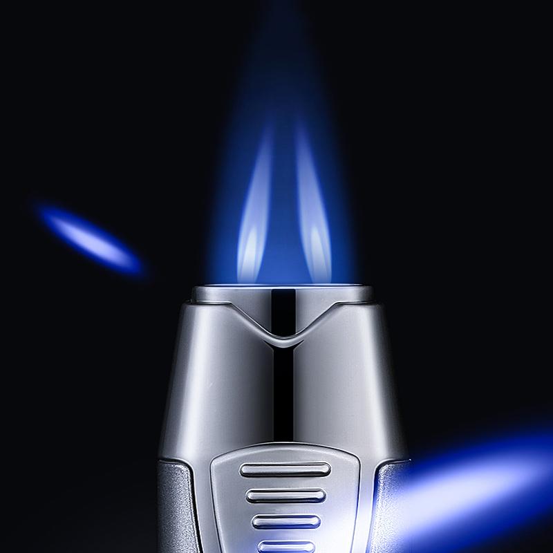 Hộp Quẹt Bật Lửa Khò 2 Tia ZB-980 Cực Mạnh Cao Cấp