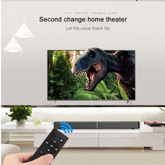Loa thanh tivi soundbar 3D LP-09 ( kèm 2 micro không dây )