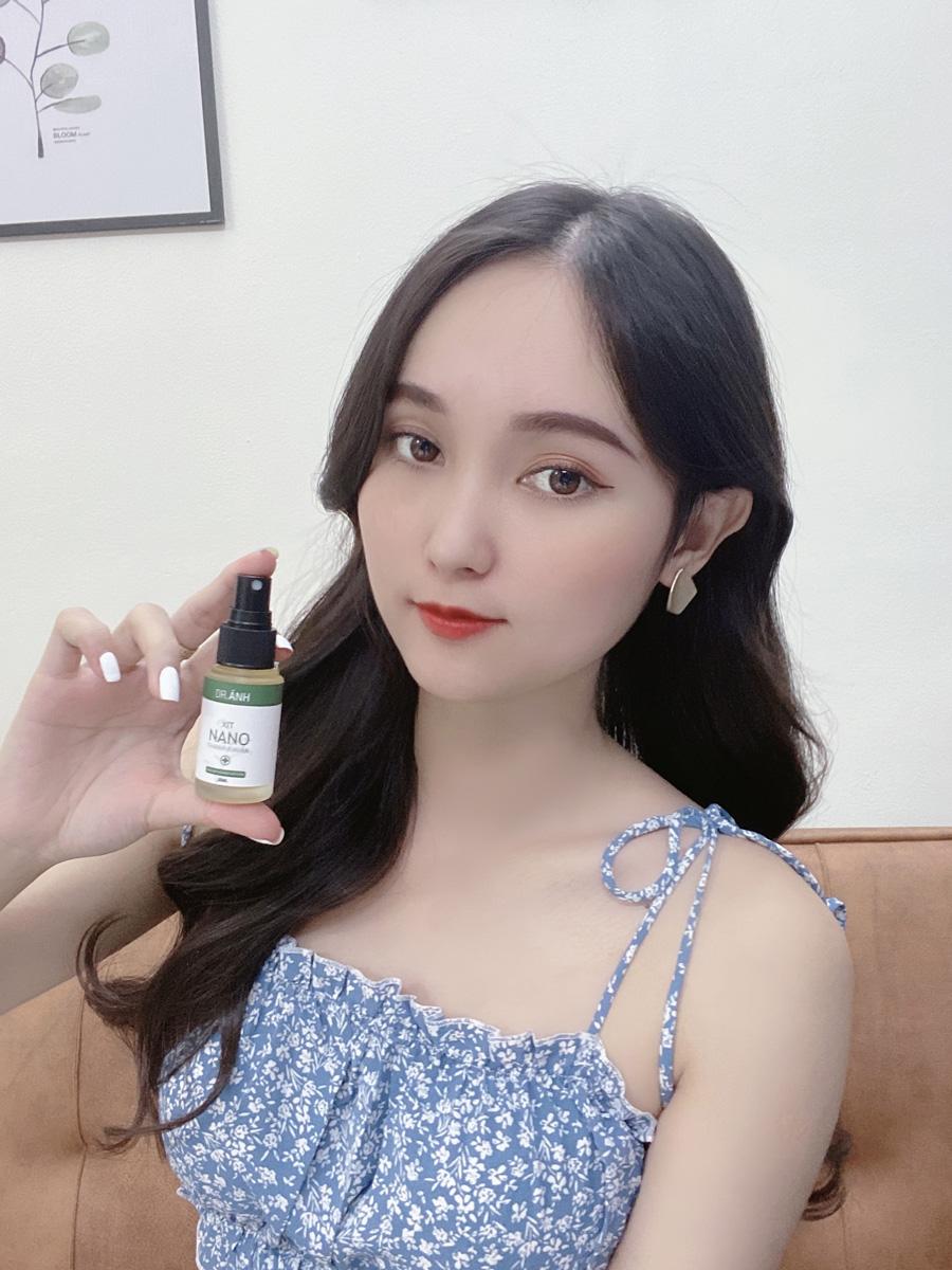 Combo 3 chai Xịt Nano Thanh Khuẩn Đánh Bay Hôi Nách - Hôi Chân Dr. Ánh