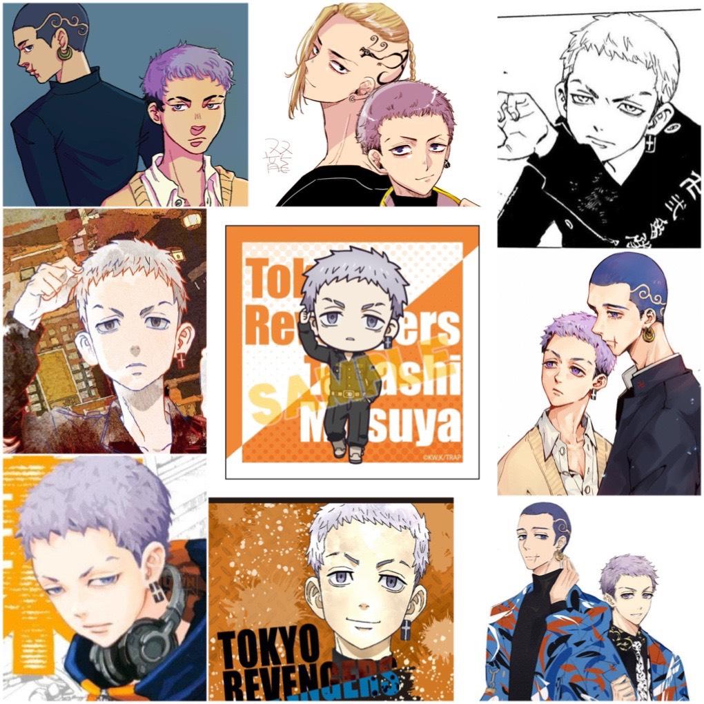 Sticker Takashi Mitsuya-Tokyo Revengers Set 30