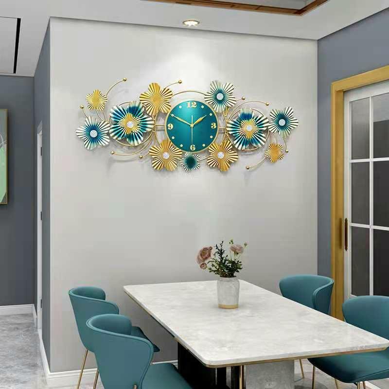 Đồng hồ trang trí Chim Công C904Đồng hồ treo tường chim công Đồng hồ Khổng Tước