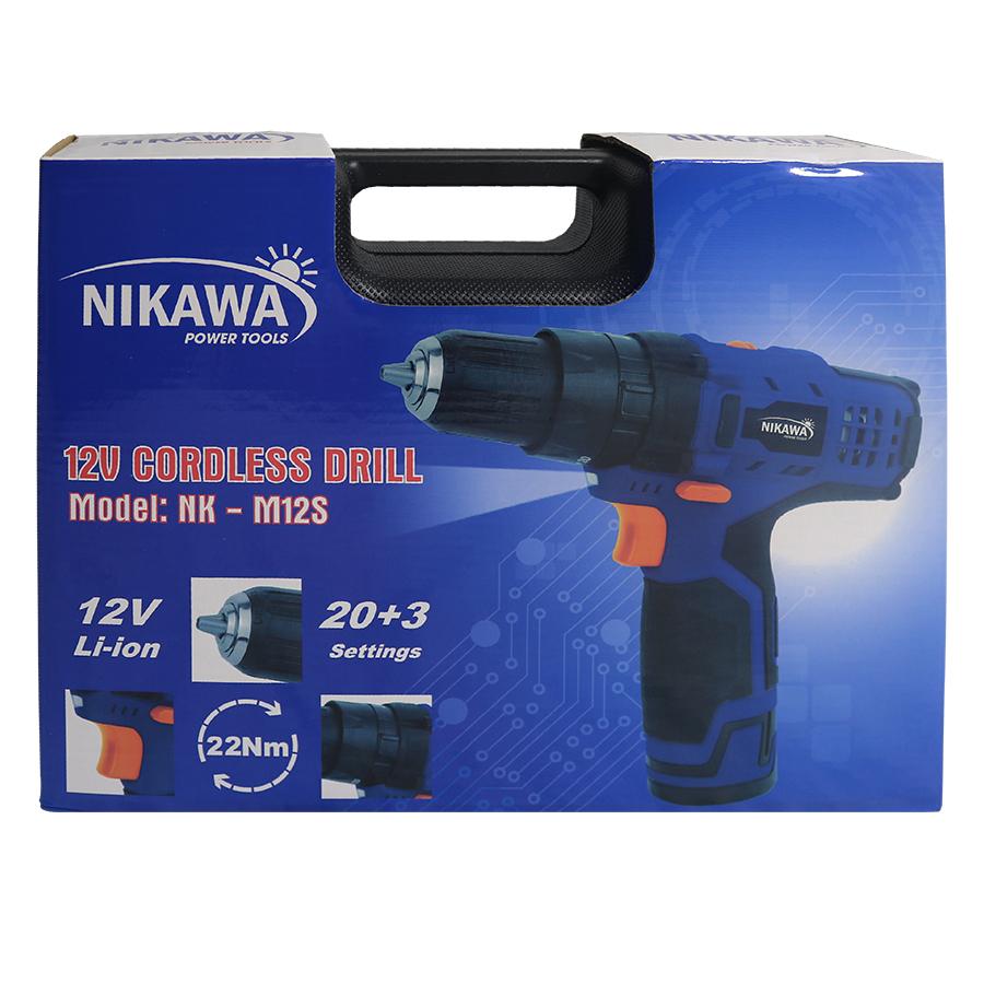 Máy khoan không dây Nikawa NK-M12SM