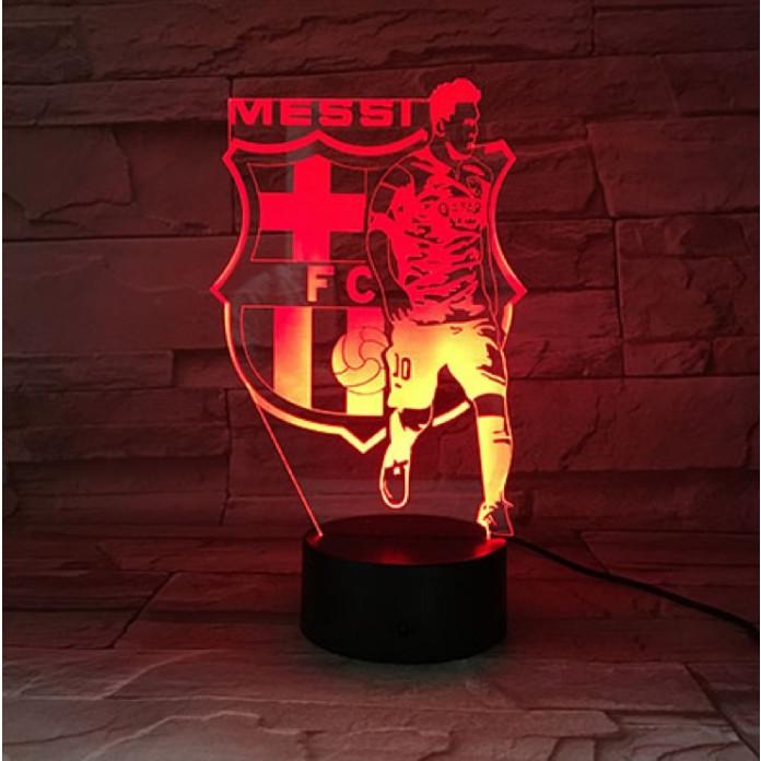 Đèn trang trí logo đội bóng 16 màu Messi