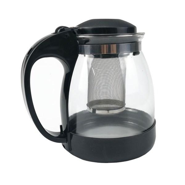 Ấm pha trà bằng nhựa trong suốt cách nhiệt dung tích 1 lít GS0045