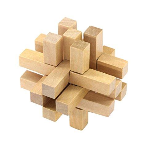 Đồ chơi phát triển trí tuệ - Giải Đố Gỗ - Khóa Luban