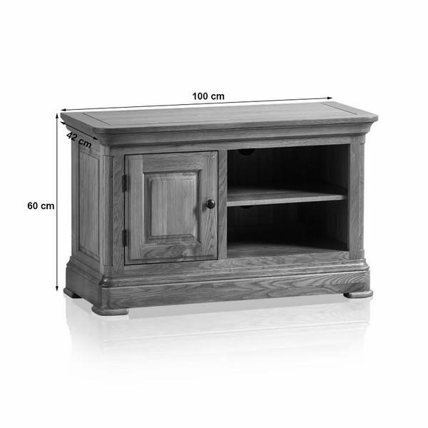 Tủ TV 1 Cánh Canterbury Gỗ Sồi Ibie LSV1CANO (100 x 42 cm)