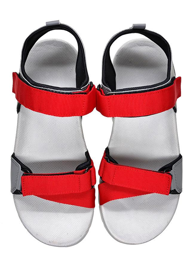 Giày sandal nam Việt Thủy quai ngang VT09 - đỏ