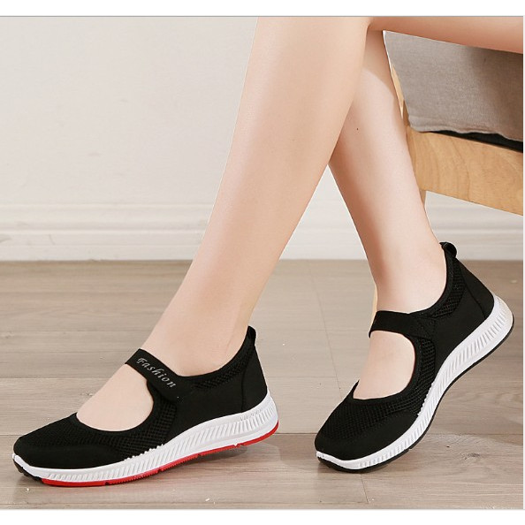 Giày thể thao nữ Fashinon phối lưới siêu thoáng