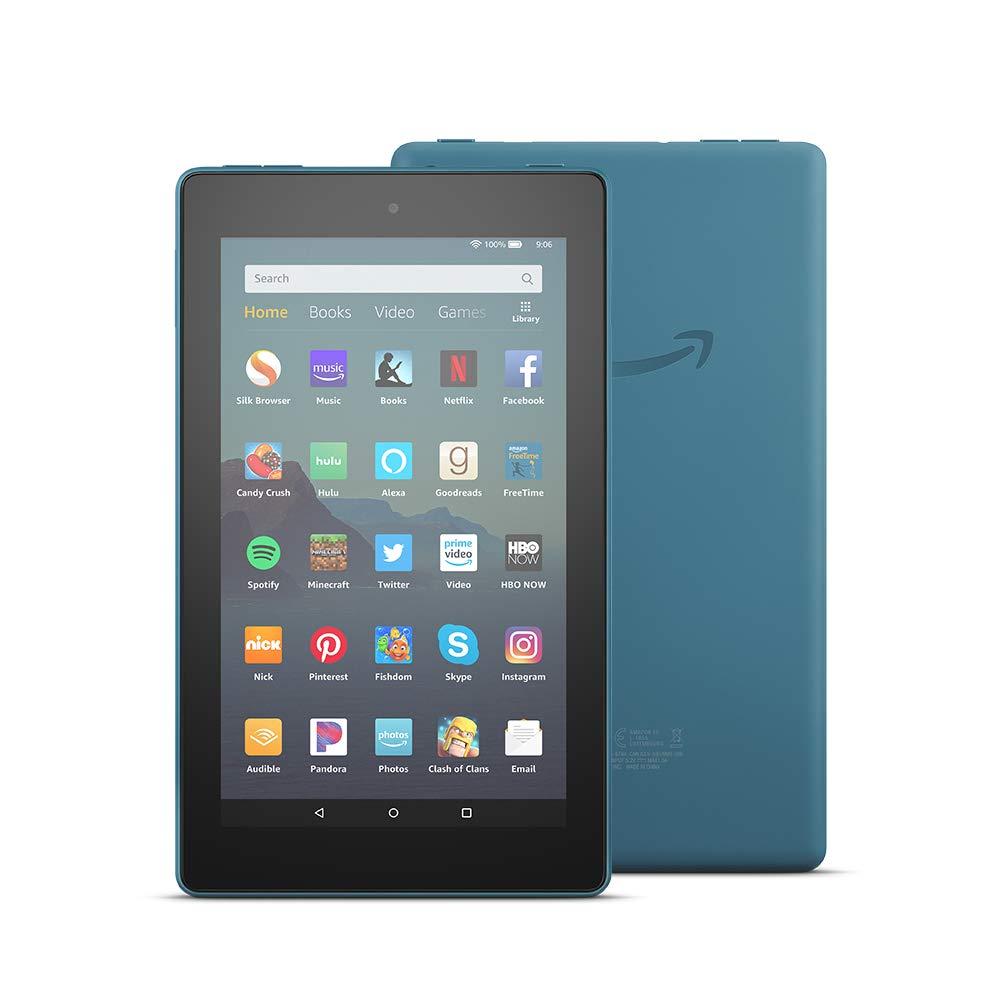 Máy Tính Bảng Kindle Fire 7 (9th) 16GB ( 2019)  Plum- Hàng nhập Khẩu