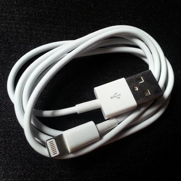 Cáp Sạc Chuẩn dành cho iPhone 5s/6s màu trắng
