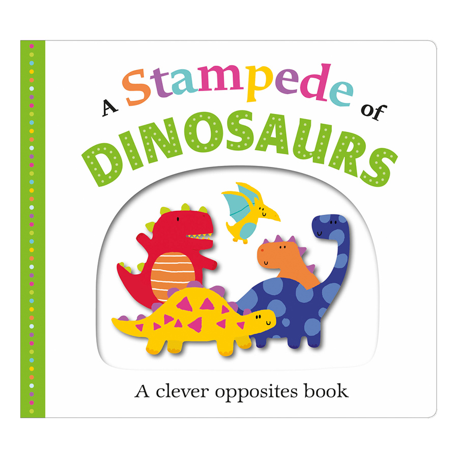 A Stampede of Dinosaurs: Picture Fit - Picture Fit (Board book)