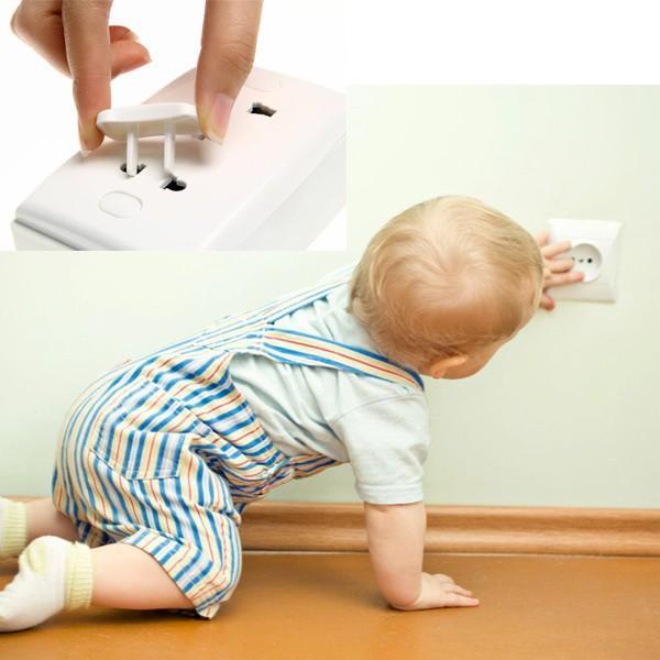 Set 5 bịt ổ điện 2 cạnh an toàn cho bé