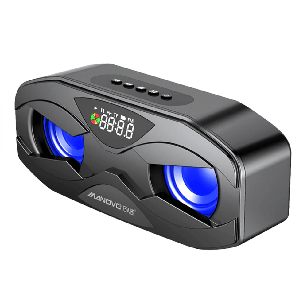 M5 USB Sạc TWS Không Dây Bluetooth Loa Âm Thanh Nổi Soundbar Rạp Hát Tại Nhà Cột Hifi Nghe Gọi Rảnh Tay Đài FM TF - Hàng Nhập Khẩu