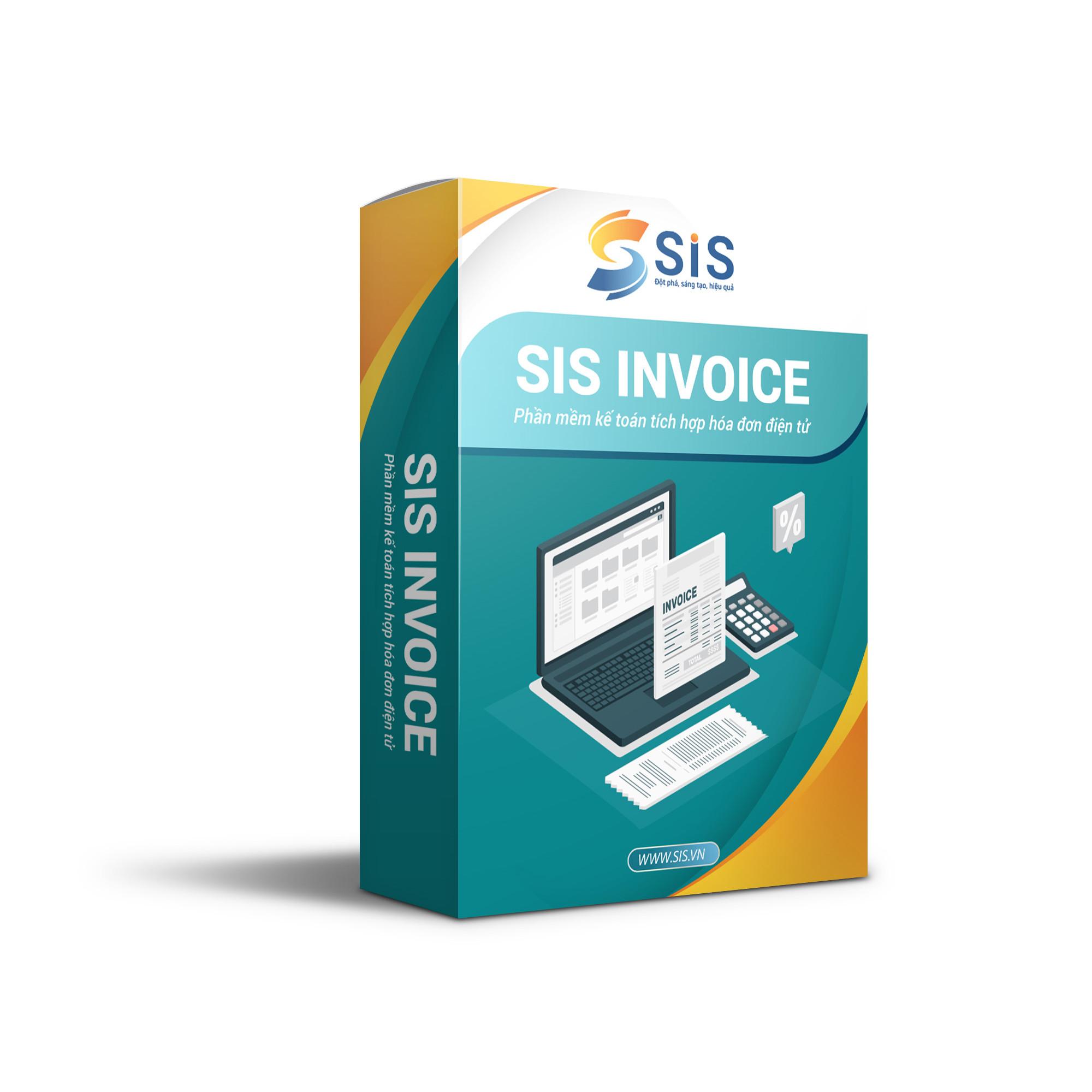 Phần mềm kế toán tích hợp hóa đơn điện tử SIS INVOICE 2021 Hàng chính hãng - Hỗ trợ mọi nghiệp vụ doanh nghiệp - Nhanh chóng, an toàn, tiện ích - Cập nhật thông tư liên tục