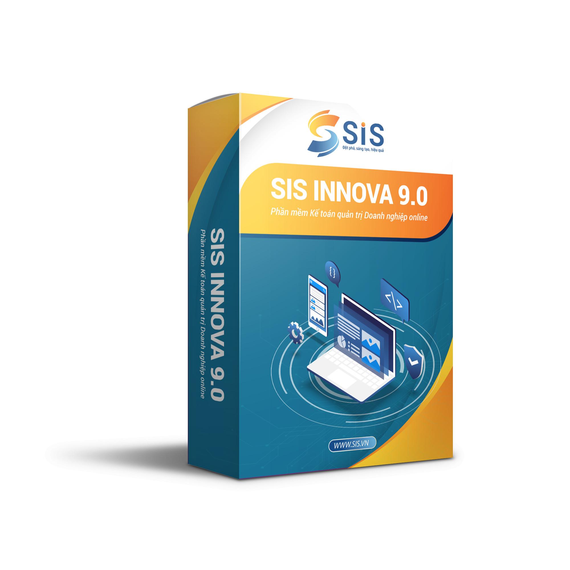 Phần mềm kế toán quản trị SIS INNOVA 9.0 dành cho doanh nghiệp Thương mại - Dịch vụ. Hàng chính hãng - Hỗ trợ mọi nghiệp vụ doanh nghiệp - Nhanh chóng, an toàn, tiện ích - Đầy đủ phân hệ kế toán - Cập nhật thông tư liên tục. Có thể sử dụng ONLINE
