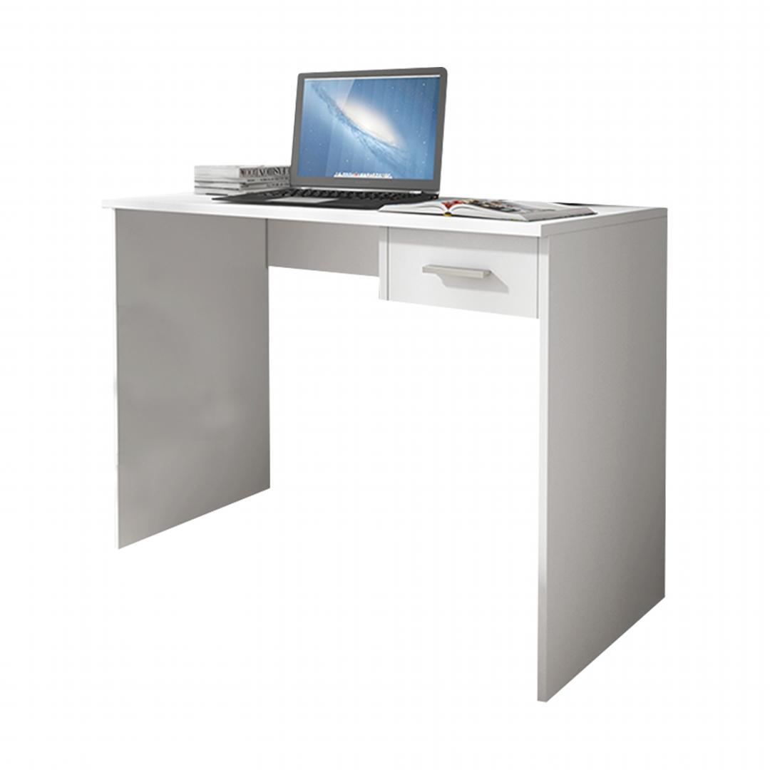 Bàn làm việc, bàn học gỗ hiện đại SMLIFE Drake