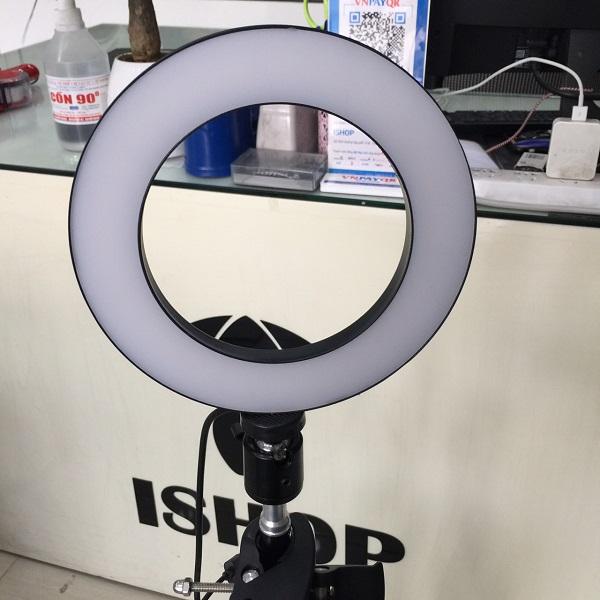 Bóng Đèn Led tròn LiveStream Ø 16CM ✓ Trang điểm ✓ Chụp ảnh ✓ Xăm nghệ thuật ✓ SIêu sáng ✓ Có nút chỉnh 3 chế độ sáng