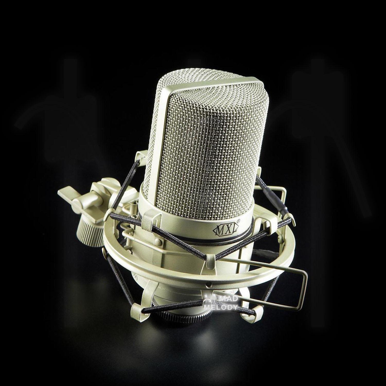 Micro thu âm cao cấp MXL 990 - Condenser Microphone - Micro thu âm chuyên nghiệp cho phòng thu, livestream, karaoke online - Hàng chính hãng