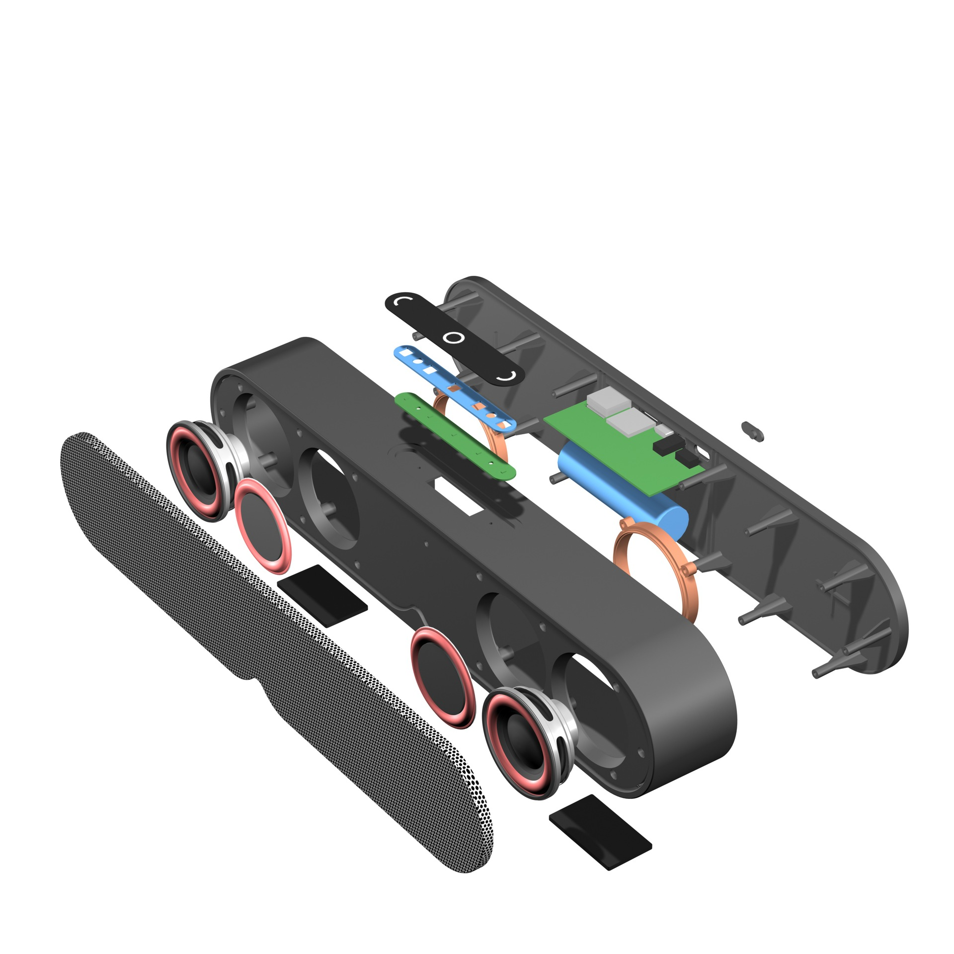 Loa bluetooth F1 Plus dành cho điện thoại, hỗ trợ khe TF gắn thẻ nhớ, cổng USB, cổng AUX 3.5mm Nhỏ gọn hiện đại
