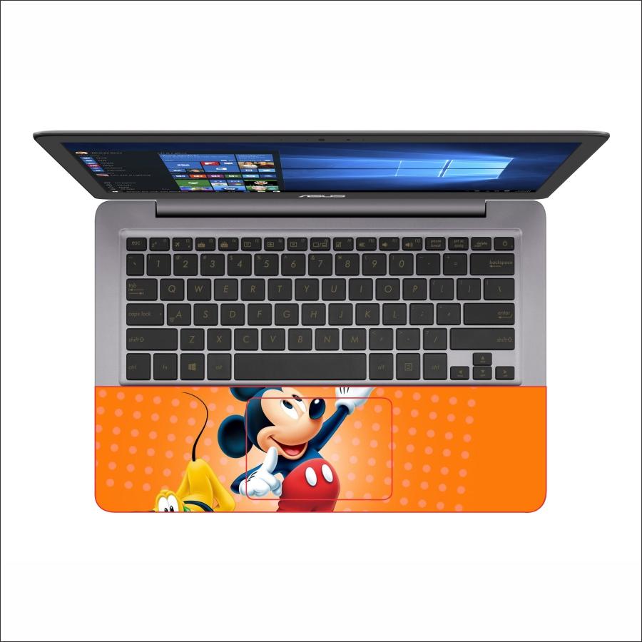 Miếng Dán Skin Decal Dành Cho Laptop - Chuột Mickey - Mã 002T11