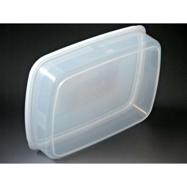 Bộ 2 hộp bảo quản thực phẩm ngăn đông và ngăn mát cỡ lớn 2,6L Nội địa Nhật Bản