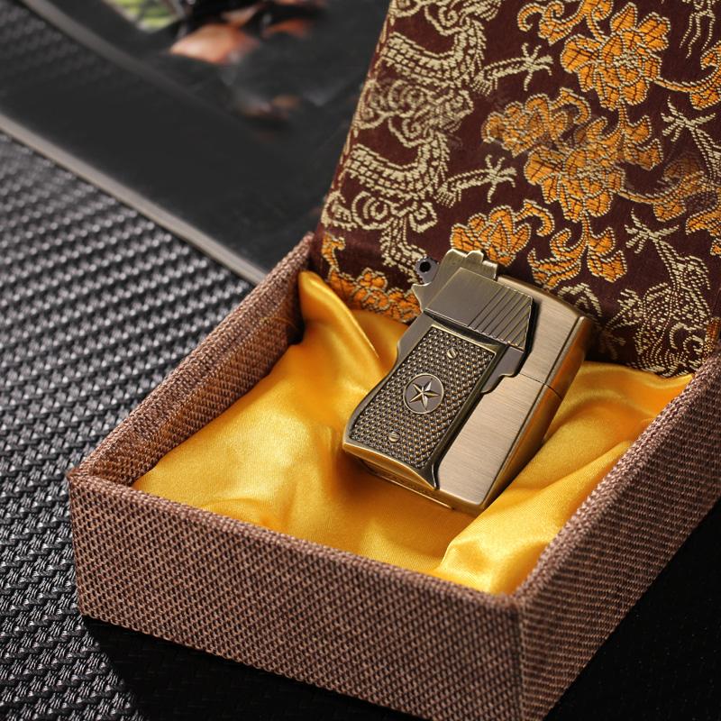 Hộp Quẹt Bật Lửa Xăng Đá Z91301 Kiểu Dáng Độc Đáo Sang Trọng