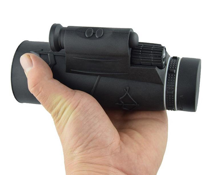 Ống nhòm một mắt dùng cho điện thoạt có chân đỡ 12x50 hình ảnh rõ nét, có thể chụp và quay lại ( Tặng kèm 03 móc dán tường chịu lực ngẫu nhiên )