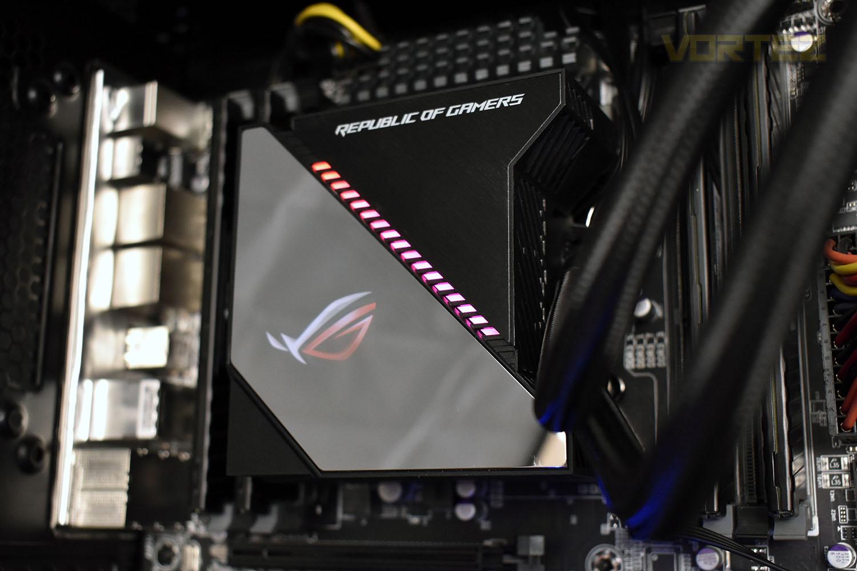 Tản nhiệt nước CPU ASUS Ryujin 240 Aura Sync RGB - Hàng Chính Hãng