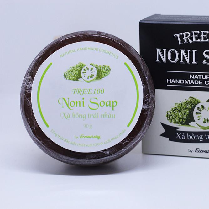 Xà Bông Trái Nhàu Cao Cấp – TREE100 Noni Soap 1pc