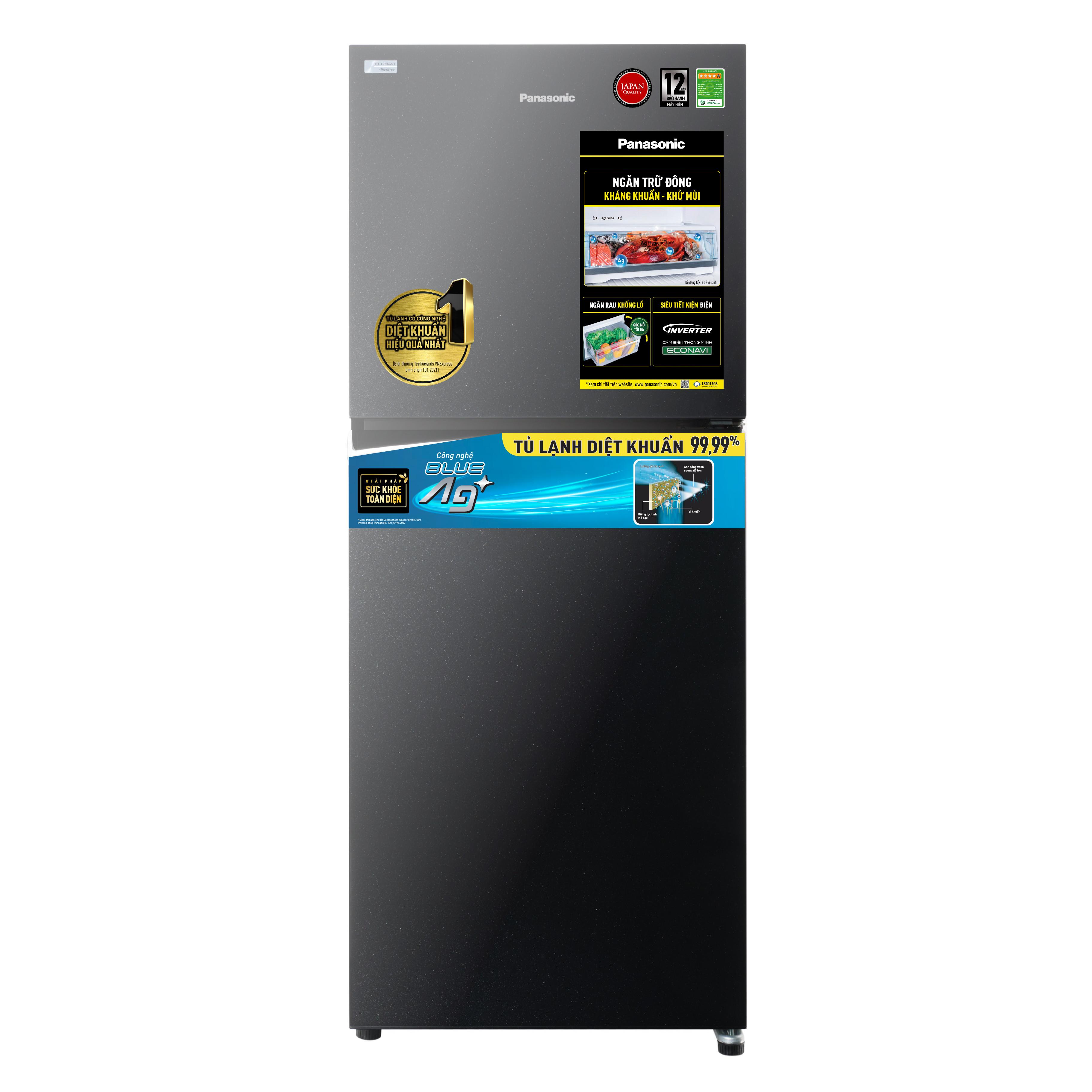 Tủ lạnh Panasonic Inverter 268 lít NR-TV301VGMV - Hàng chính hãng (chỉ giao HCM)