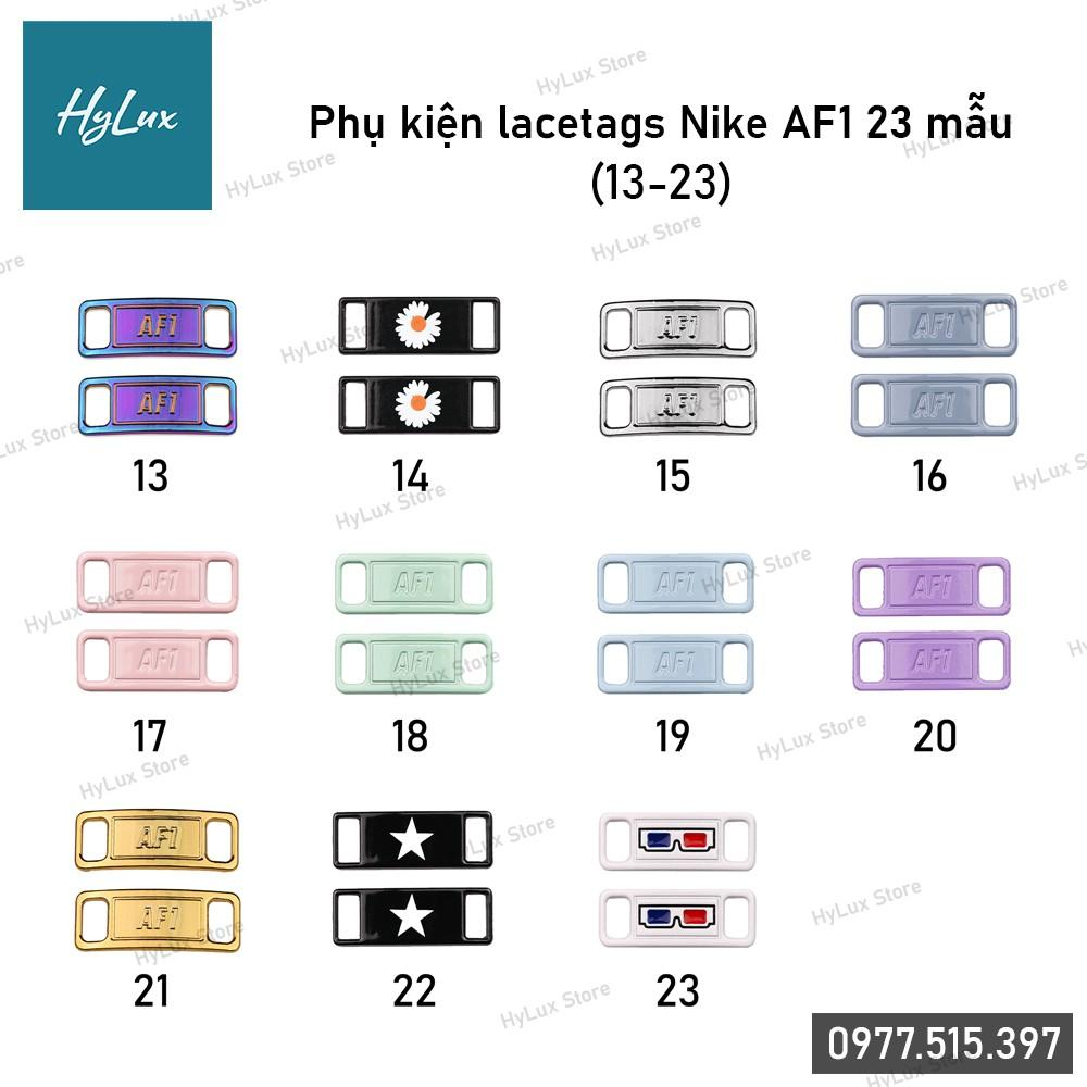 Phụ Kiện Giày - Lacetags Nike AF1, Air Jordan 23 mẫu (11 mẫu cuối)
