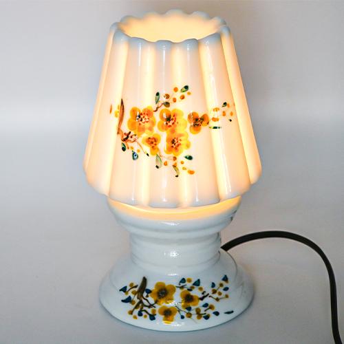 Đèn Xông Tinh Dầu Viet Oils - Mẫu Nấm Lùn - Gốm Sứ Cao Cấp Nhập Khẩu.