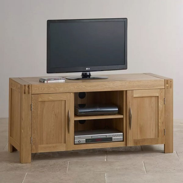 Tủ TV 2 Cánh Alto Gỗ Sồi Ibie LSV2ALTO (140 x 42 cm)