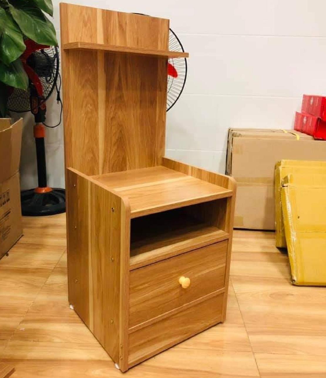 Tủ đầu giường gỗ sồi TDG -02
