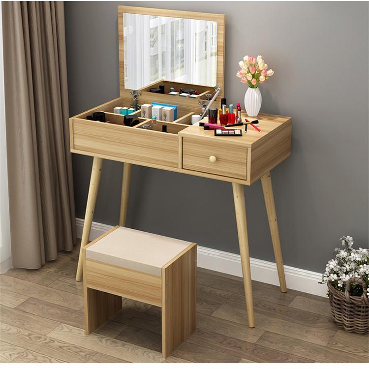 Bộ bàn ghế trang điểm gỗ cao cấp