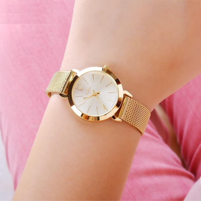 Đồng hồ nữ dây thép Julius B-1274
