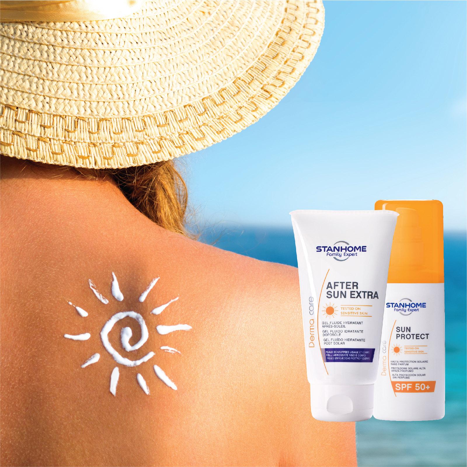 Combo Kem chống nắng Sun Protect SPF50+ 125ml và Kem dưỡng phục hồi sau khi ra nắng After Sun Extra 150ml