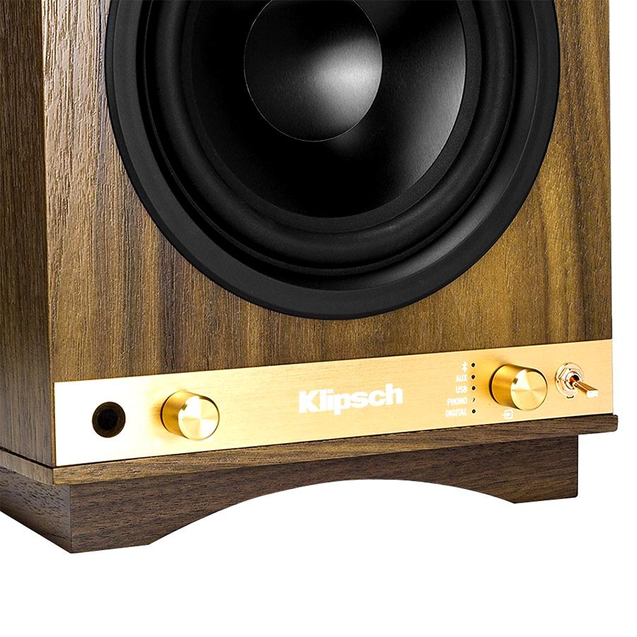 Loa Bluetooth Klipsch The Sixes (Walnut) - Hàng Chính Hãng