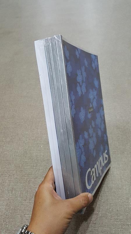 Vở Garden & Jungle 200 Trang A4 - Kẻ Ngang Có Chấm - 200 Trang - NB-A4GJ200 (Lốc 5 Cuốn) - Mẫu 2