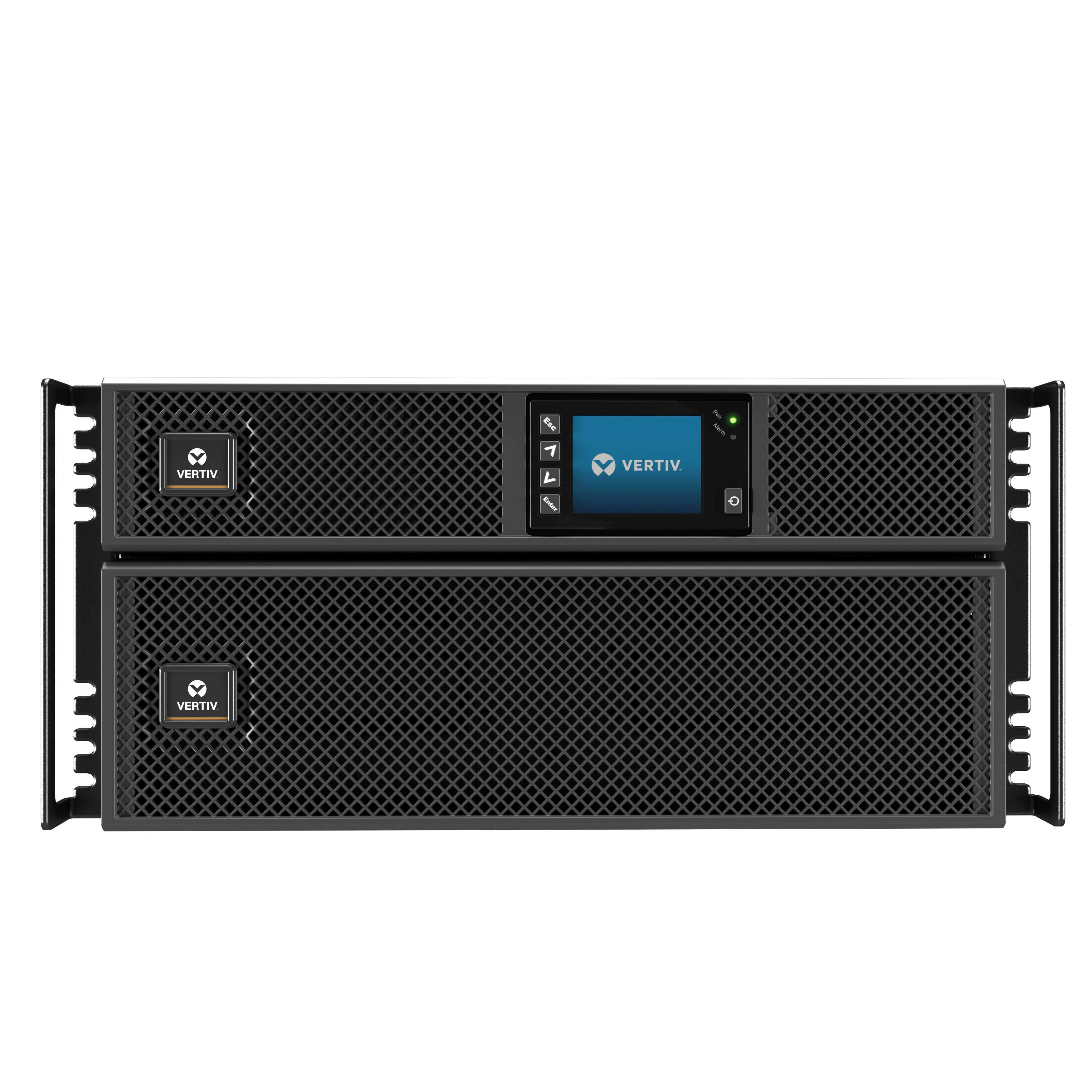 Bộ lưu điện: Vertiv Liebert GXT5 8000VA, 230V - GXT5-8000IRT5UXLN- Hàng chính hãng