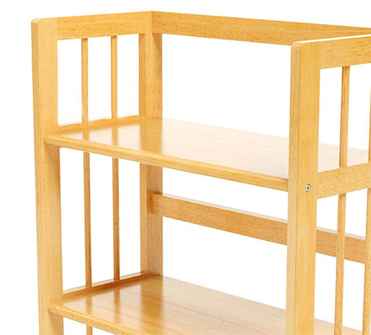 Kệ Sách 3 Tầng Gỗ Cao Su HB363 (63 x 30 x 90 cm) - Tự Nhiên